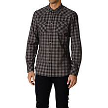 Buy Diesel Bahir Corduroy Shirt, Grey Online at johnlewis.com