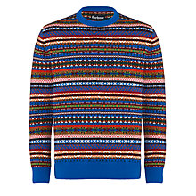 Buy Barbour Martingale Cobalt Long Sleeve Jumper, Cobalt Blue Online at johnlewis.com