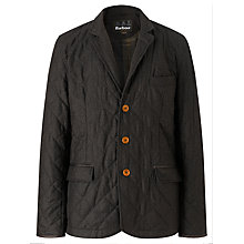 Buy Barbour Riber Quilted Jacket, Brown Online at johnlewis.com