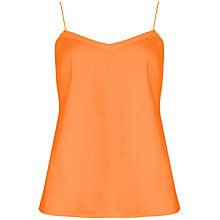 Buy Ted Baker Tissa Scalloped Edge Cami, Tangerine Online at johnlewis.com