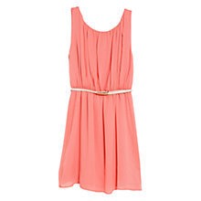 Buy Mango Pleated Flowy Dress Online at johnlewis.com