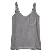 Buy Mango Washed Cotton Top Online at johnlewis.com