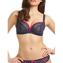 Buy Freya Patsy Plunge Bra, Ink Online at johnlewis.com