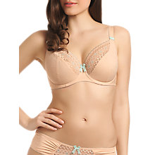 Buy Freya Enchanted Plunge Bra, Nude Online at johnlewis.com