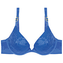 Buy Stella McCartney Stella Lace Plunge Bra, Cobalt Blue Online at johnlewis.com