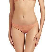 Buy Elle Macpherson Intimates Fluro Summer Briefs, Fluo Pink / Toast Online at johnlewis.com