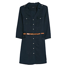 Buy Mango Linen Blend Shirt Dress Online at johnlewis.com