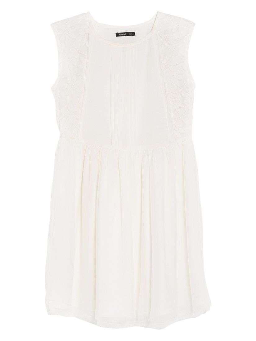 mango embroidered flower dress natural white, mango, embroidered, flower, dress, natural, white, 8|12|6, clearance, womenswear offers, winter sun, women, womens dresses, special offers, womens dresses offers, 1405264