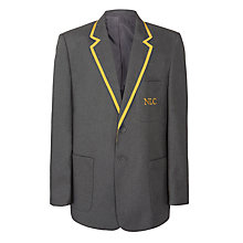 Buy NLC Independent School Blazer, Grey Online at johnlewis.com
