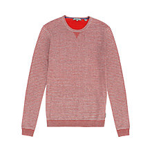 Buy Ted Baker Tonebag Stripe Crew Neck Jumper Online at johnlewis.com