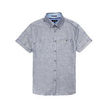 Buy Ted Baker Freshyo Linen Blend Shirt Online at johnlewis.com