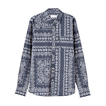 Buy Jigsaw Slim Fit Bandana Print Long Sleeve Shirt Online at johnlewis.com