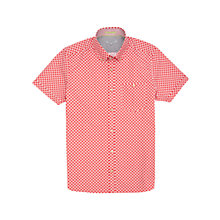 Buy Ted Baker Monkeys Printed Shirt, Red Online at johnlewis.com