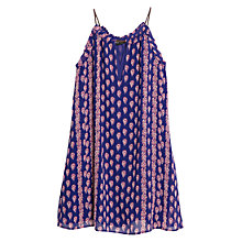 Buy Mango Paisley Print Halter Dress, Bright Blue Online at johnlewis.com