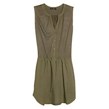 Buy Mango Flowy Drawstring Dress Online at johnlewis.com
