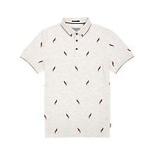 Buy Ted Baker Paratop Embroidered Polo Shirt Online at johnlewis.com