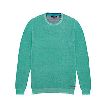 Buy Ted Baker Plated Crew Neck Jumper Online at johnlewis.com