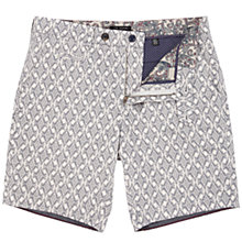 Buy Ted Baker Bywater Printed Shorts, Navy Online at johnlewis.com
