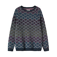 Buy Toast Hilde Jumper, Navy Multi Online at johnlewis.com