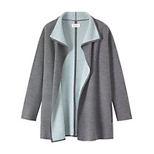 Buy Toast Thiora Coat, Grey/Cyan Online at johnlewis.com