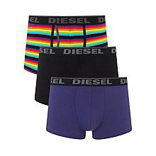 Buy Diesel Lage Trunks, Pack of 3 Online at johnlewis.com