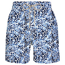 Buy Vilebrequin Seaweed Swimming Shorts, Blue Online at johnlewis.com