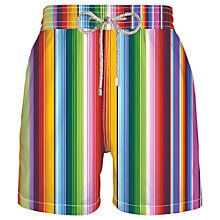 Buy Vilebrequin Stripe Swimming Shorts, Multi Online at johnlewis.com