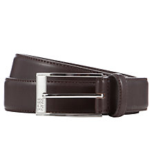 Buy BOSS Estonio Leather Belt Online at johnlewis.com