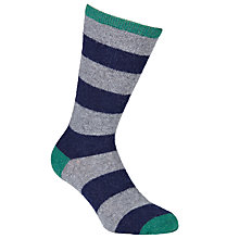 Buy Barbour Monkton Stripe Socks Online at johnlewis.com