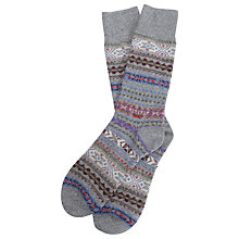 Buy Barbour Boyd Lambswool Socks Online at johnlewis.com