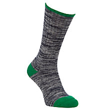 Buy Barbour Kendal Cotton Socks, Dark Navy Online at johnlewis.com