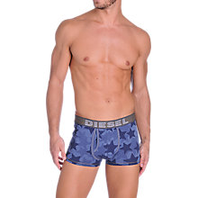 Buy Diesel Denim Star Trunks, Blue Online at johnlewis.com