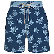 Buy Vilebrequin Turtle Swim Shorts, Navy Online at johnlewis.com