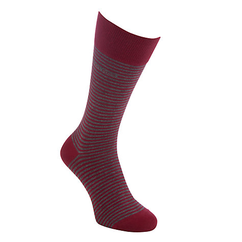 Buy BOSS Marc Stripe Socks Online at johnlewis.com