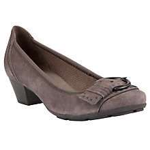 Buy Gabor Cinderella Suede Court Shoes Online at johnlewis.com