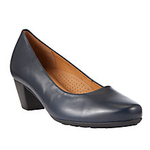 Buy Gabor Brambling Leather Court Shoes Online at johnlewis.com