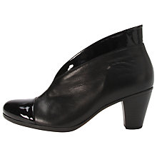 Buy Gabor Enfield Leather Mid Heel Ankle Boots Online at johnlewis.com
