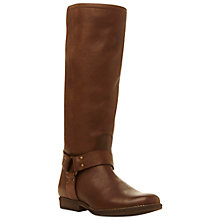 Buy Steve Madden Holden Long Leather Boots Online at johnlewis.com