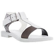 Buy Bertie Jixi T-Bar Chunky Ankle Strap Leather Sandals Online at johnlewis.com