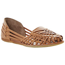 Buy Bertie Luanda Huarache Leather Loafers Online at johnlewis.com