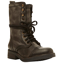 Buy Steve Madden Monch Leather Calf Boots Online at johnlewis.com