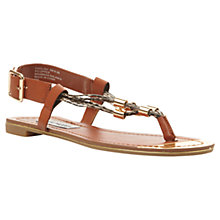 Buy Steve Madden Foolish Metal Detail Sandals Online at johnlewis.com