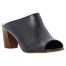 Buy Dune Flavia Mule Leather Sandals Online at johnlewis.com