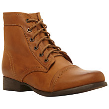 Buy Steve Madden Tundra Leather Boots Online at johnlewis.com