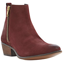 Buy Steve Madden Neovista Leather Ankle Boots Online at johnlewis.com