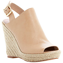 Buy Steve Madden Corizon Leather Wedged Sandal Online at johnlewis.com