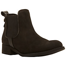 Buy Steve Madden Gilte Nubuck Chelsea Ankle Boot Online at johnlewis.com