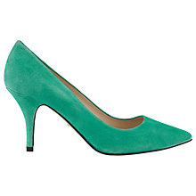 Buy Whistles Cassini Leather Court Shoes Online at johnlewis.com