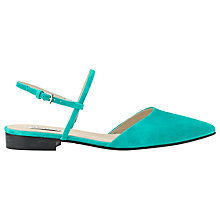 Buy Whistles Lorna Flat Slingback Sandals Online at johnlewis.com