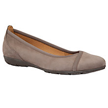 Buy Gabor Evangeline Nubuck Ballerinas Online at johnlewis.com